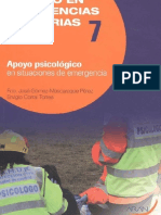 Temario Apoyo Psicológico en Situaciones de Emergencia