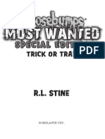 "Excerpt from ""Trick or Trap"" by R.L. Stine."