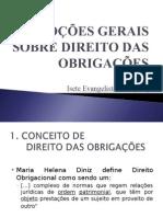 Aula 01 - Do Direito Obrigacional e Das Obrigações de dar.ppt