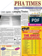 Alpha Times neighbourhood newspaper
