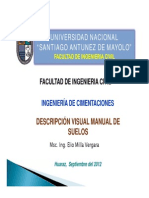 Descripción Visual Manual de Suelos-PPT