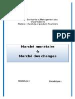 Marché Monétaire & Marché de Change
