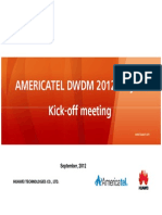 Americatel Project Kick-Off Meeting 2012 (1)
