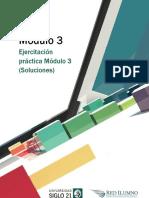 Módulo 3 - Ejercitación Práctica Módulo 3 (Soluciones)