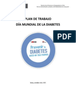 Plan de Trabajo - Dia Mundial Diabetes (1)