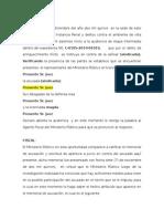 Esquema de Audiencia de Etapa Intermedia Enriquecimiento Ilicito