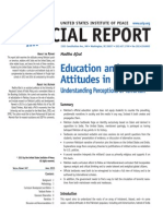 Education and Attitudes in Pakistan