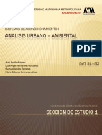 Analisis Urbano Ambiental DF