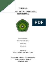 Tutorial Akuntansi Excel Sederhana