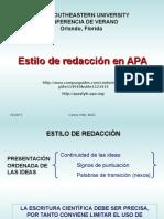 Apa Algunas Notas Importantes 3ra.. Edicion en Español