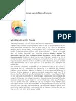 5 Revelaciones Para La Nueva EnergÃ-A