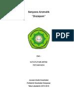 Senyawa Aromatik Diazepam