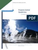 Estudio Tecnico-Economico de implementación Planta de Geotermia en Chile