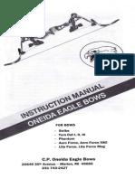 Manual Del Eagle Bow