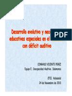 01 Desarrollo Evolutivo y Nee en Alumnado Con Déficit Auditivo (1)