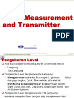 3. Level Measurement and Transmitter