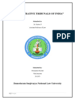 Administrative Tribunals in India