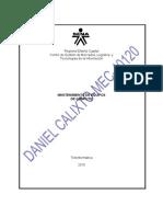 EVIDENCIA 031-MANTENIMIENTO DEL VENTILADOR DE LA CAJA DEL PC