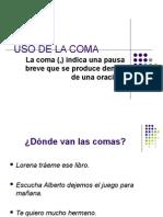 USO DE LA COMA I.ppt