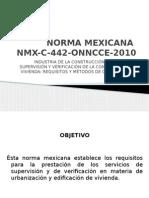 NMX-C-442-ONNCCE-2010 Powerpoint 2013