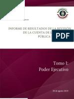 Cuenta Pública 2014 -Tomo I Poder Ejecutivo-5