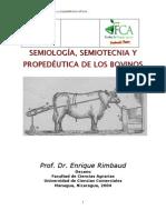 Semiotecnia y Propedéutica Veterinaria