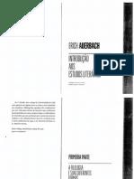 Auerbach a Filologia e Suas Diferentes Formas