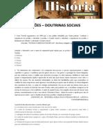 QUESTÕES - DOUTRINAS SOCIAIS