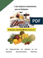 Cuáles Son Los Mejores Tratamientos Para El Diabetes