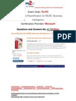 [FREE]Braindump2go Latest 70-470 PDF 100% Pass Guaranteed 41-50