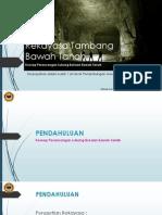 Rekayasa Tambang Bawah Tanah 10-03-2015