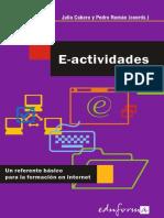 Cabero - E-Actividades. Un Referente Básico Para La Formación en Internet