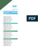 Content Marketing Editorial Calendar Template v1