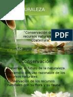 conservacion de los recursos naturales