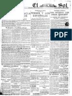 El Sol (Madrid. 1917). 9-10-1919