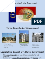 nc state branches of government  1