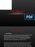 Mini Project internship