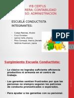 Accounting Team Escuela Conductista