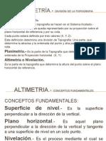 Clase 5 Altimetria i