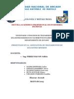 Facultad de Ingeniería de Minas