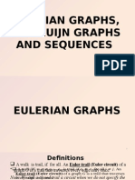 Eulerian Graphs, De Bruijn Graphs and Sequences