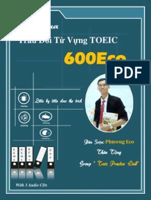 600Eco Từ Vựng TOEIC