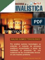 12. Dr. Wilfredo Revilla Cahuana - La Pericia Químico - Toxicológica