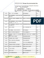 2010.3.22全台地球日活動列表