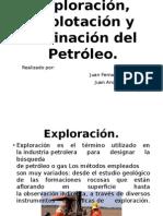 Exploración, Explotación y Refinación Del Petróleo