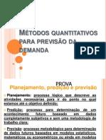 Metodos Quantitativos Para Previsao Da Demanda 2 SLIDES PARA NP1