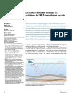 V27 -E1 -Las Especies Silvestres Marinas y Las Actividades de E&P- Trabajando Para Coexistir