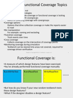 Chap 9 Functional Coverage