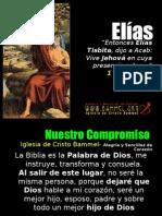 Elias, el gran profeta del Antiguo Testamento