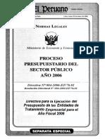 DIRECTIVA 004-2006-EF-76.1
